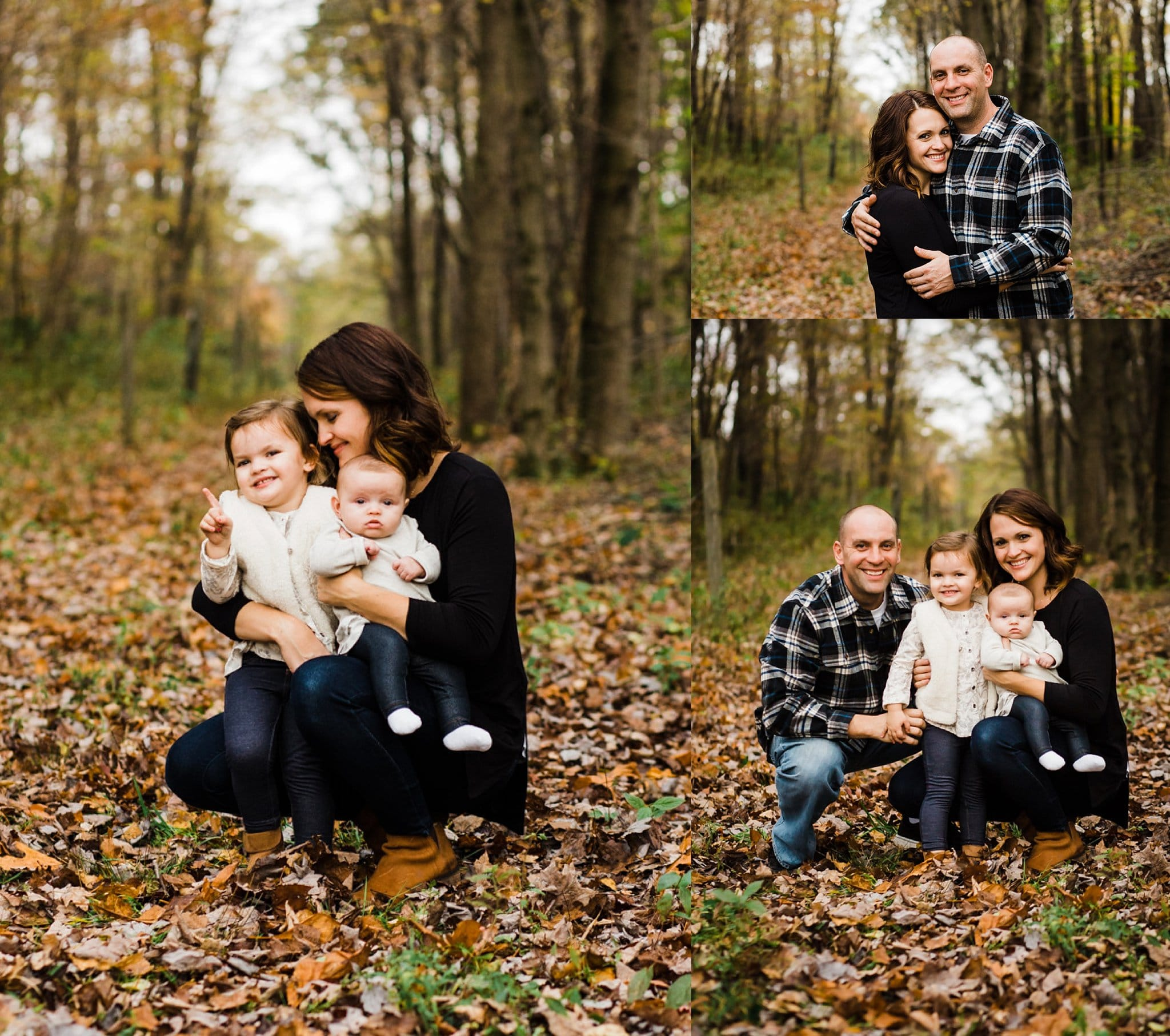 Melissa Lucci and her family