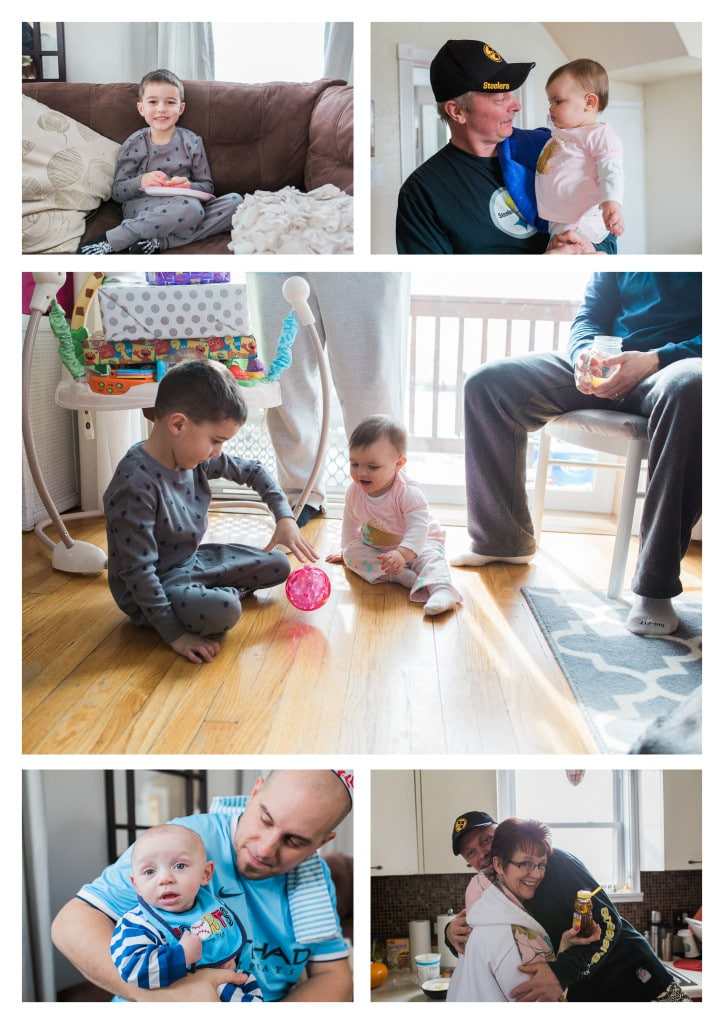 Pancakes and PJ's First Birthday Party