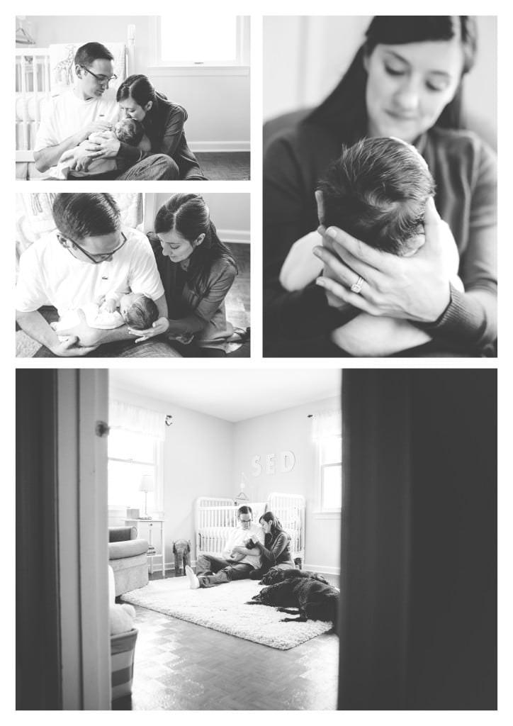 Pittsburgh Lifestyle Newborn Photographer