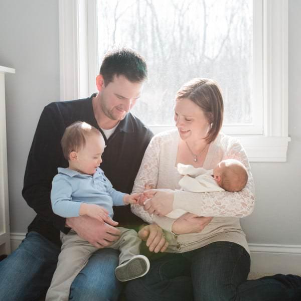 Baby Maxwell + Family