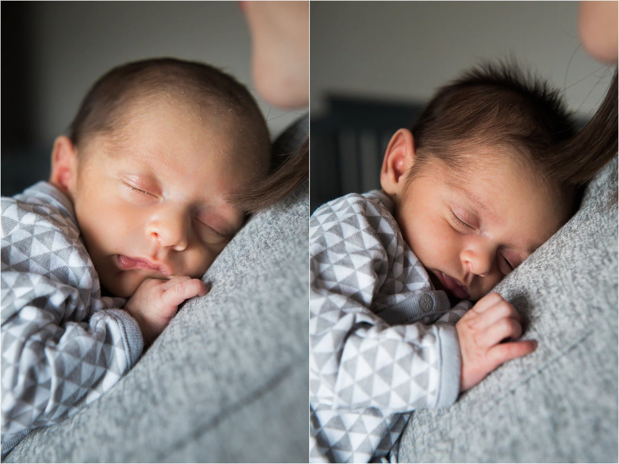 In Home Lifestyle Newborn Photography - Pittsburgh