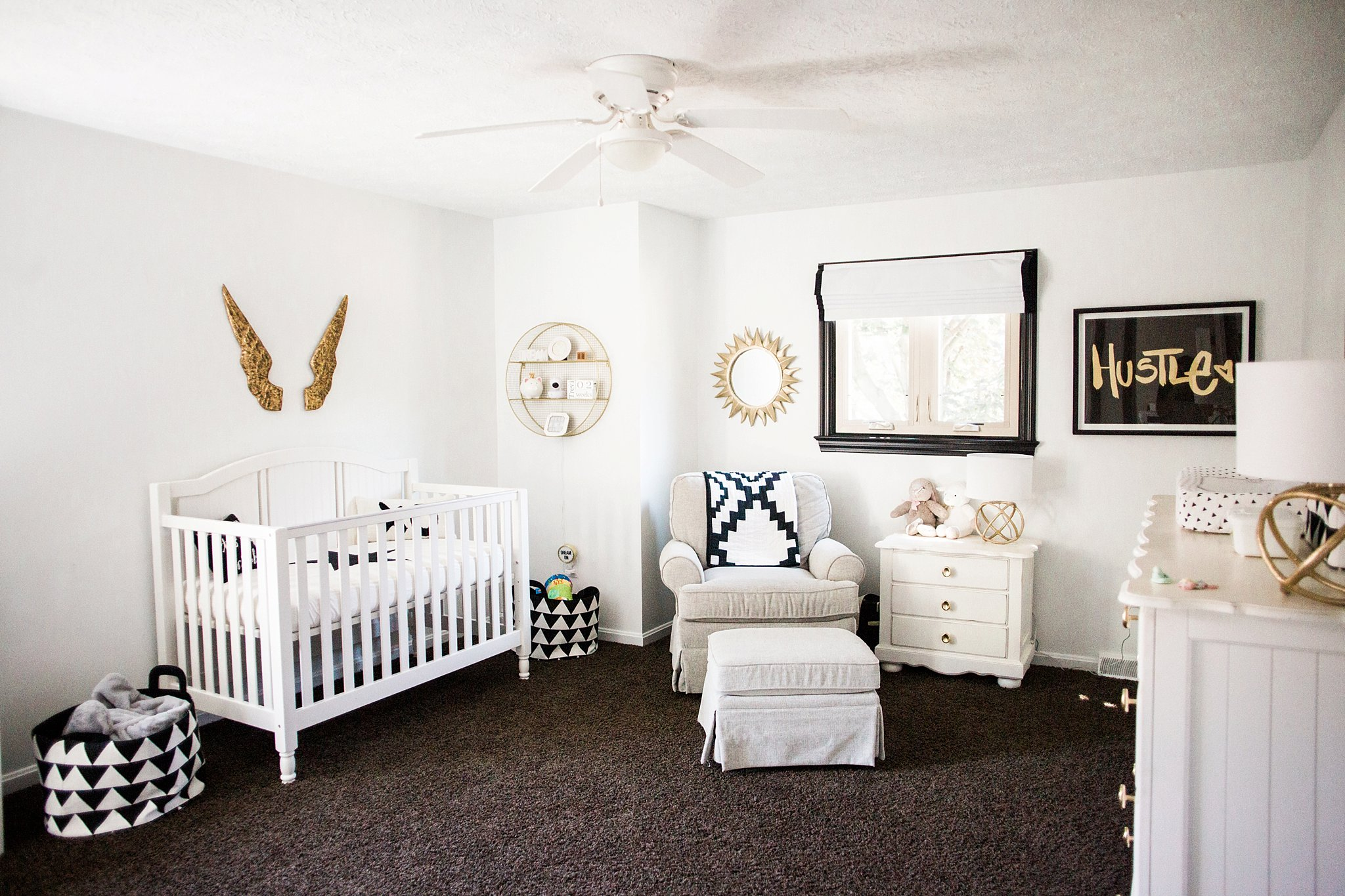 restoration hardware and pottery barn nursery furniture and decor