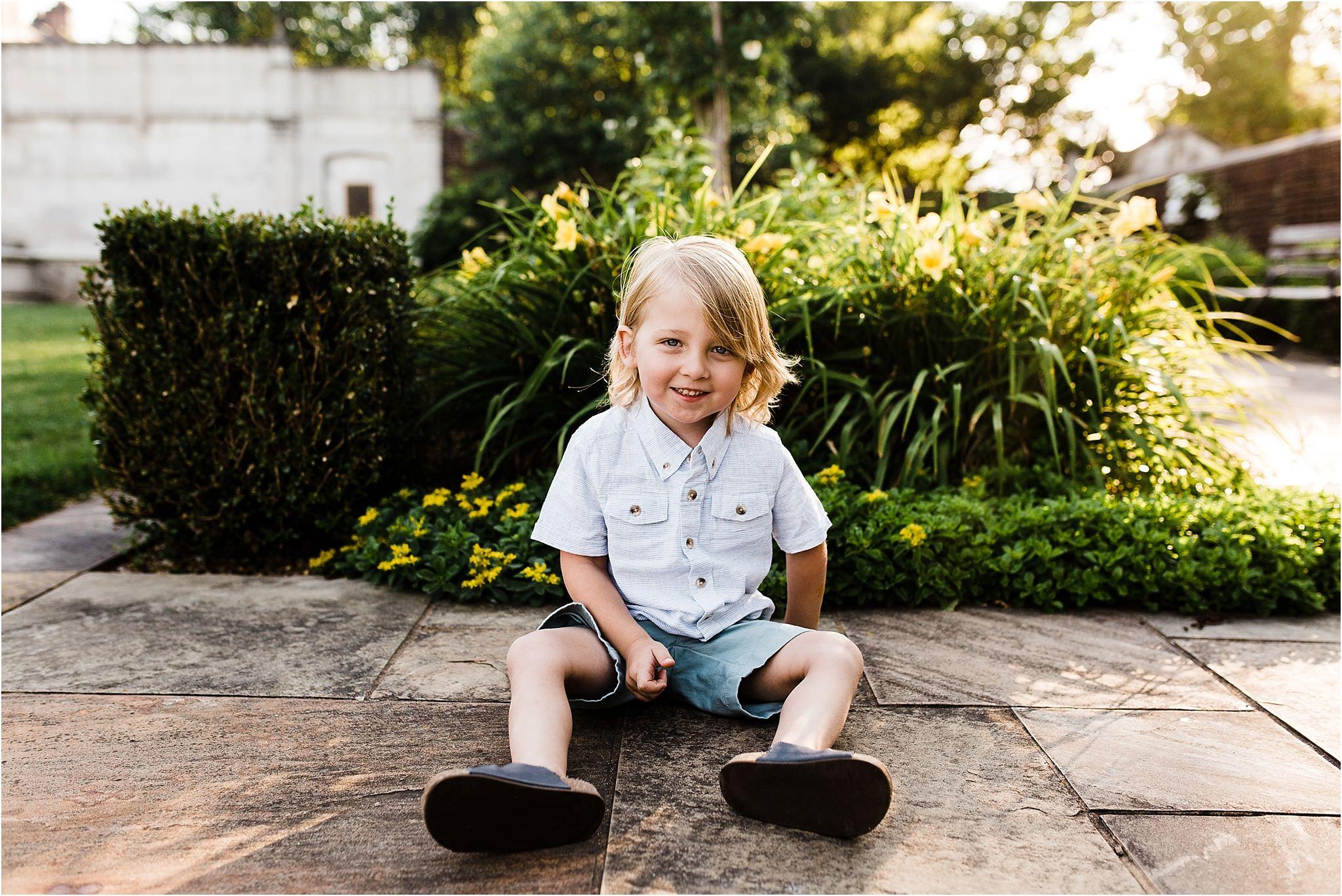 Child photo at Mellon Park