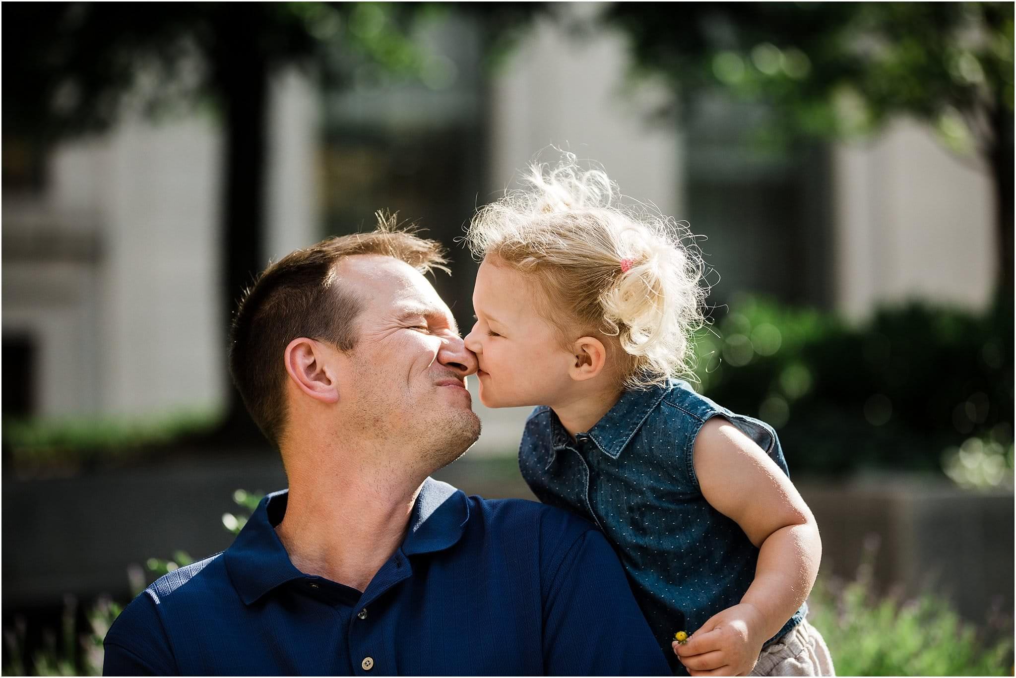ugga mugga daddy daughter kiss