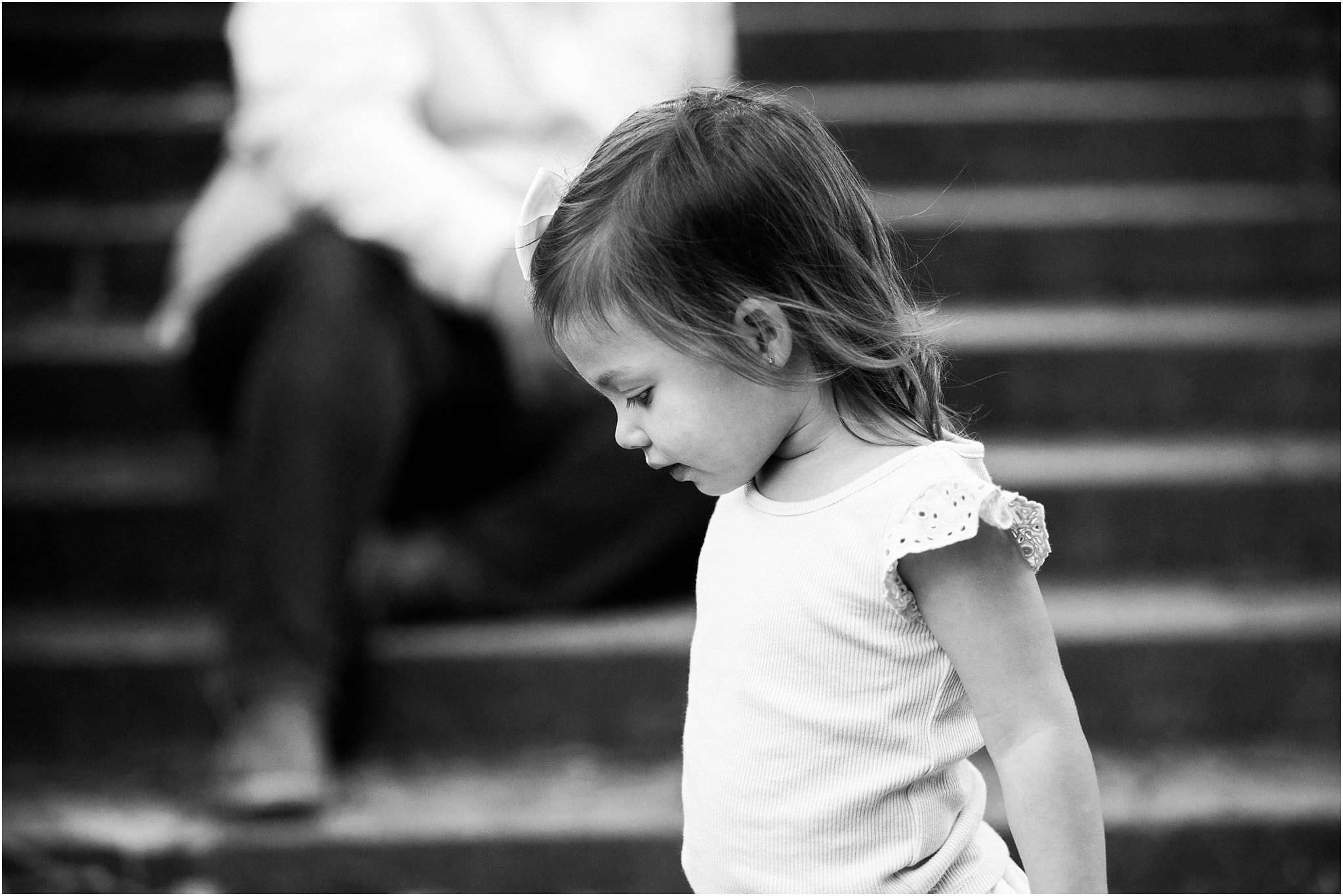 photo of toddler walking
