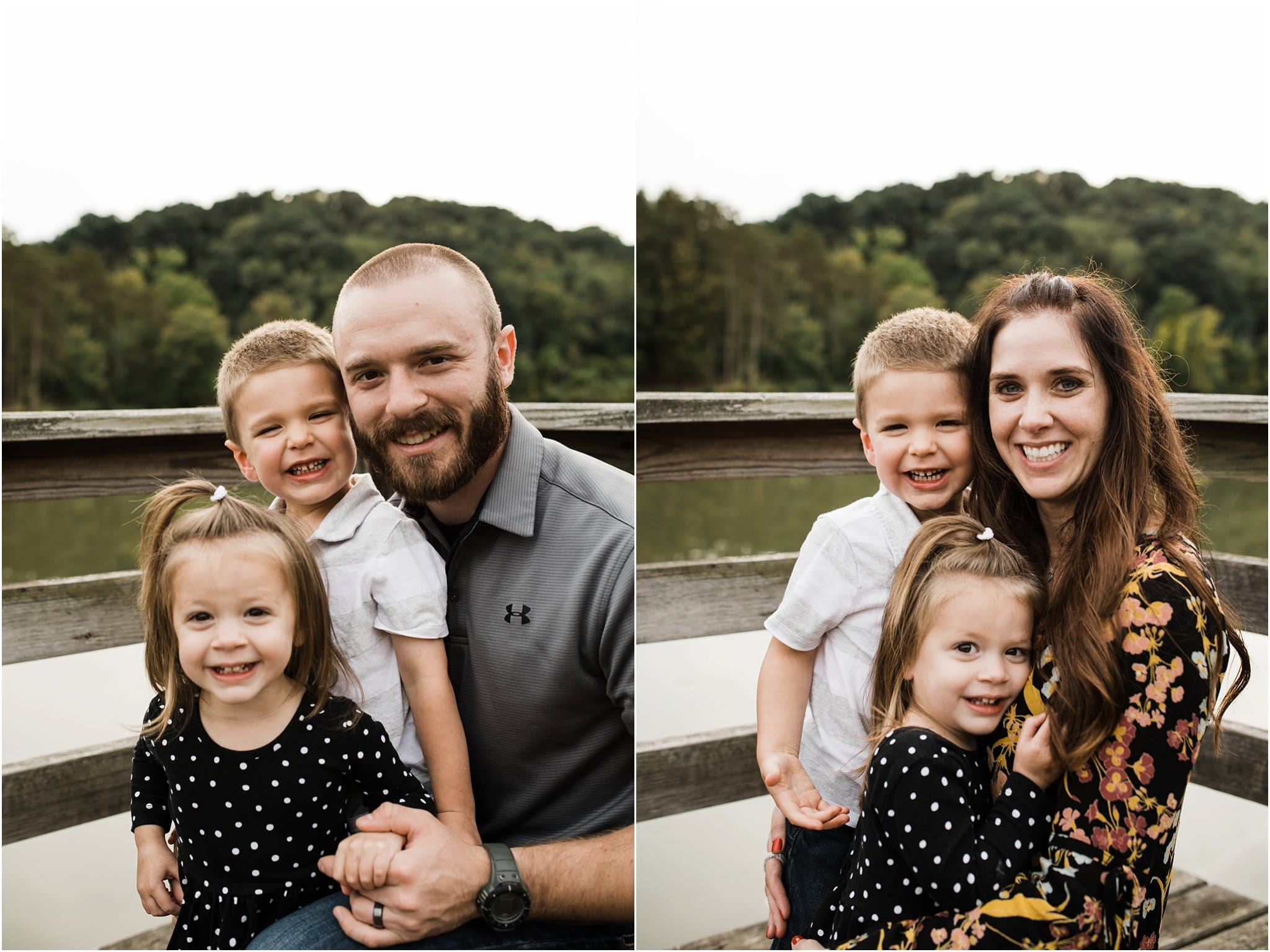 mother and father photos with toddler children