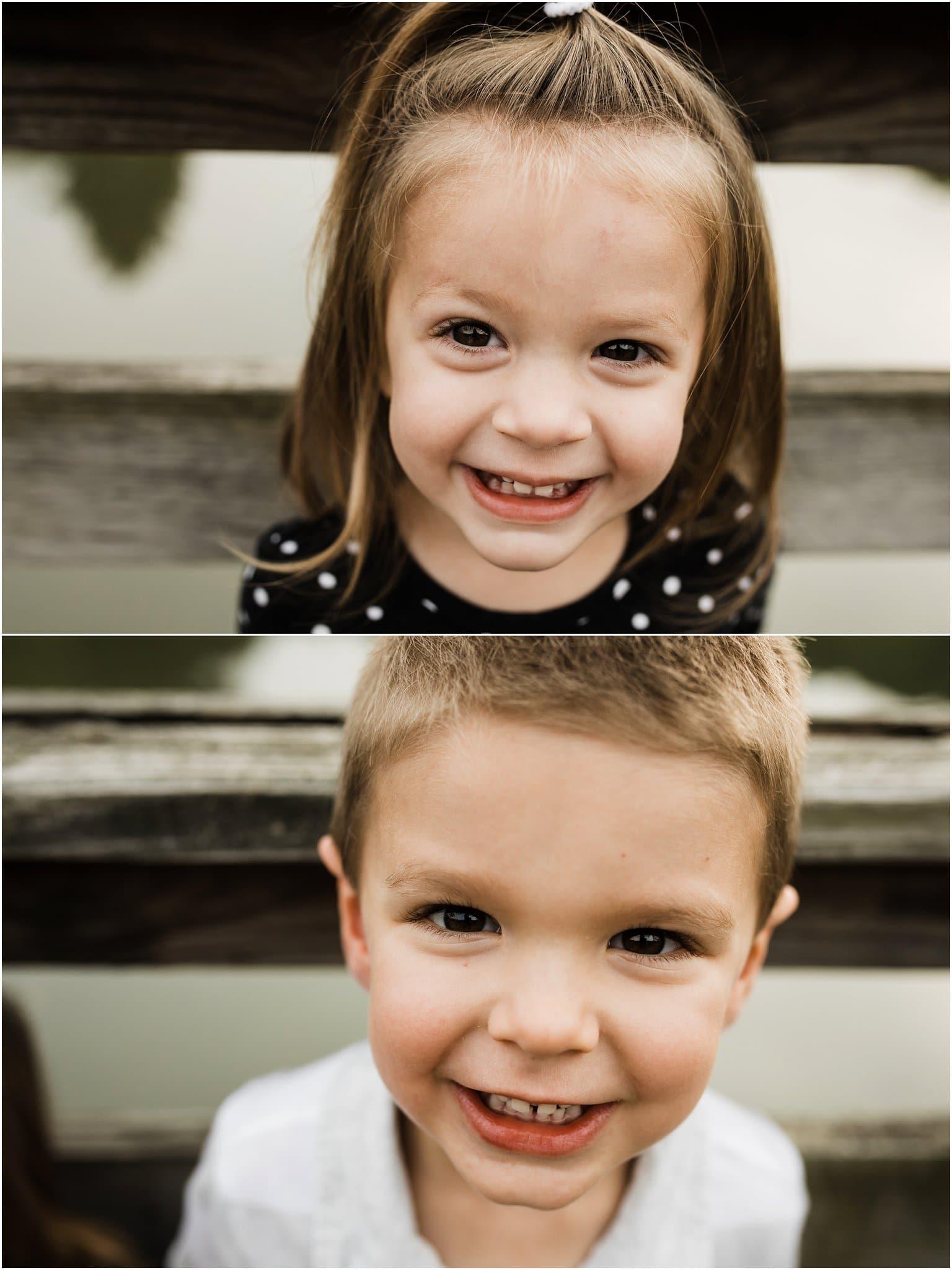 Close up child photos