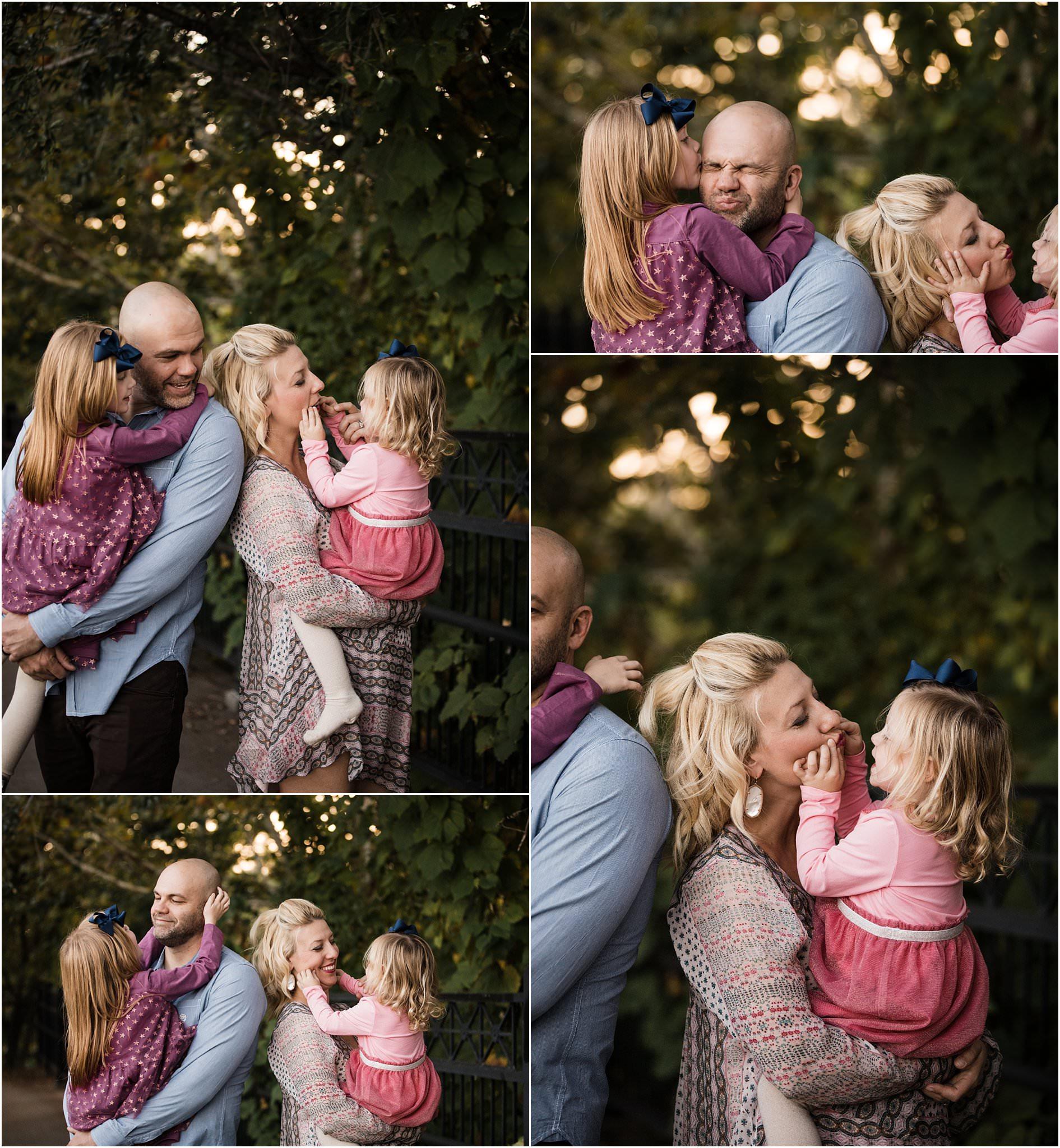 lifestyle family photos at washington's landing