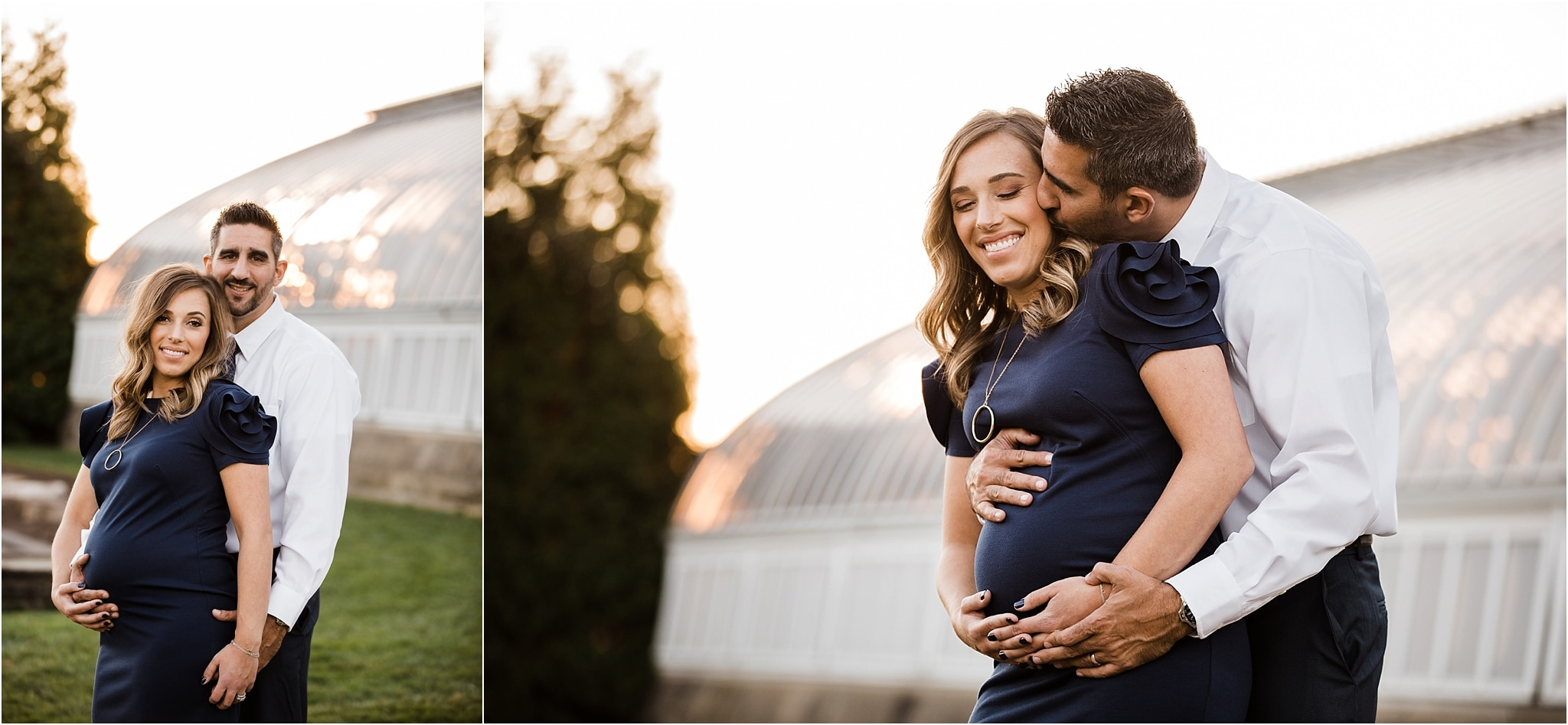 golden hour maternity in Pittsburgh