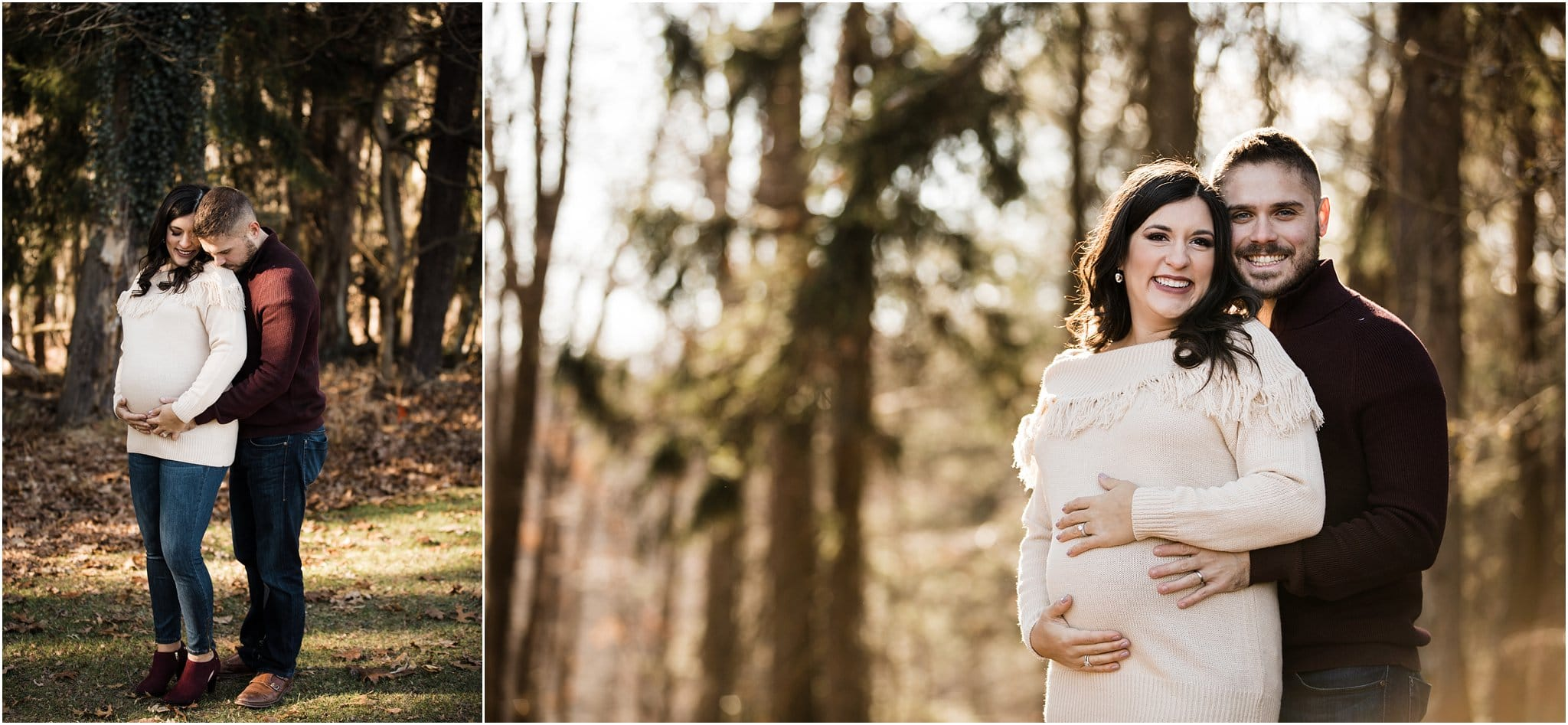 maternity session at hartwood acres pittsburgh