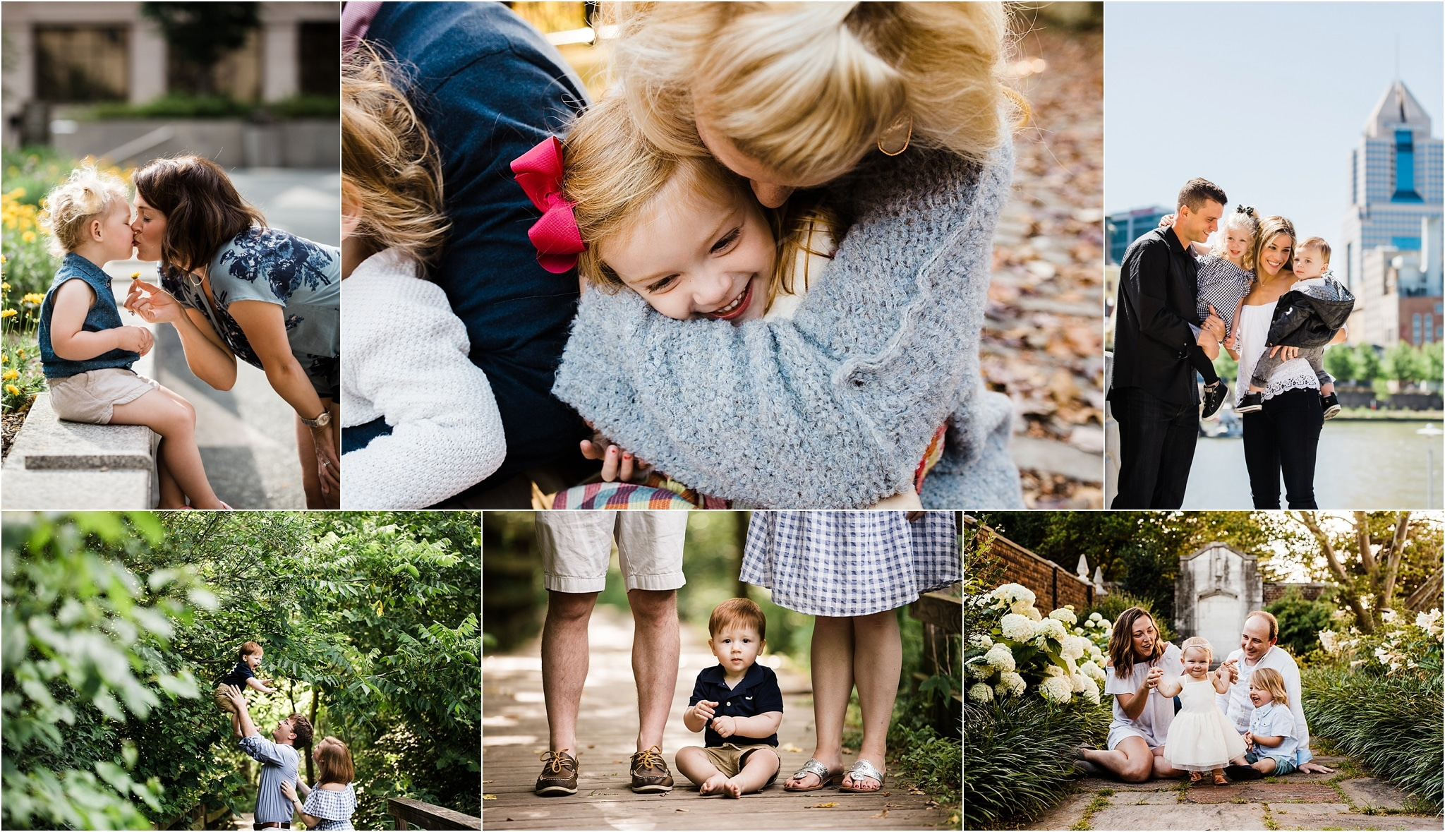 Outdoor Family Photos In Pittsburgh, PA