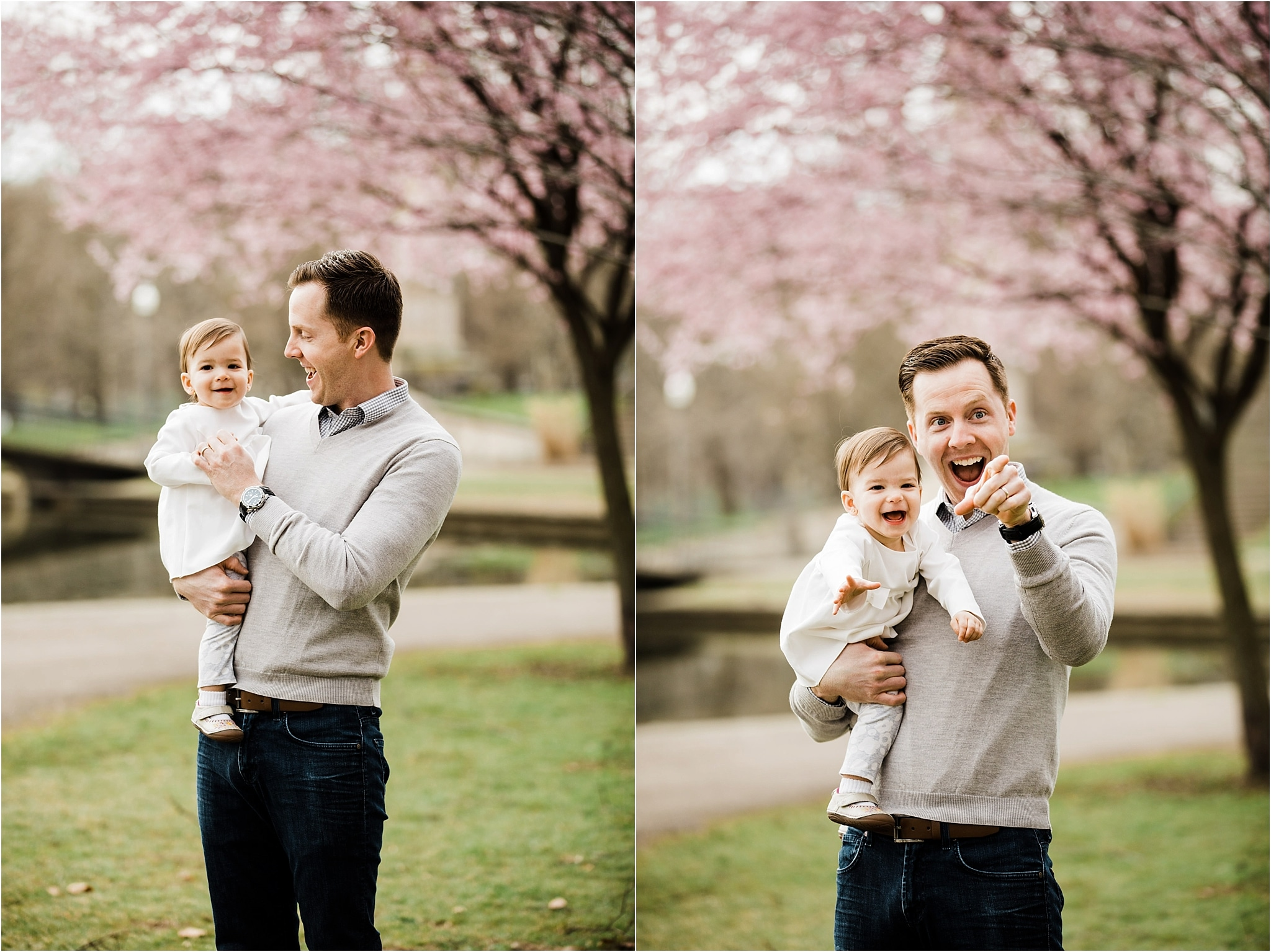 Spring Family photos at West Park in Pittsburgh
