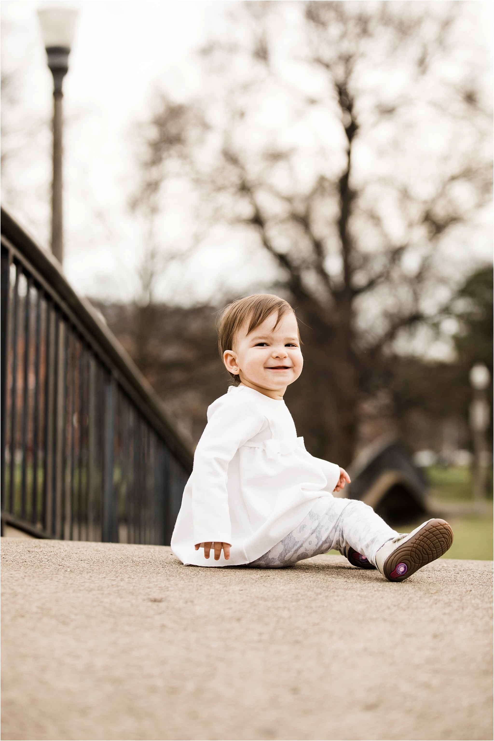 1 year old family photos at west park in pittsburgh