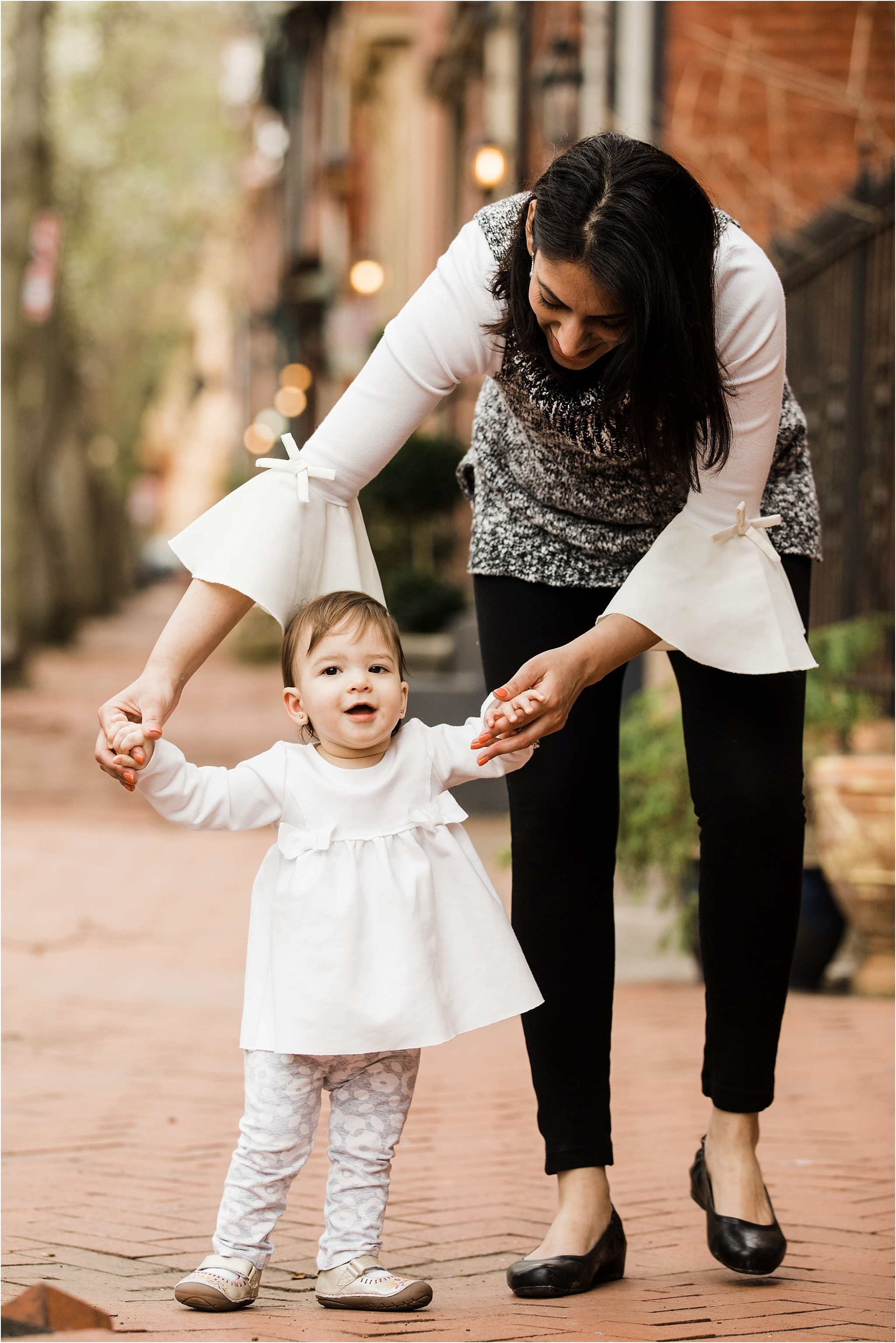 one year old family photo session in the mexican war streets pittsburgh