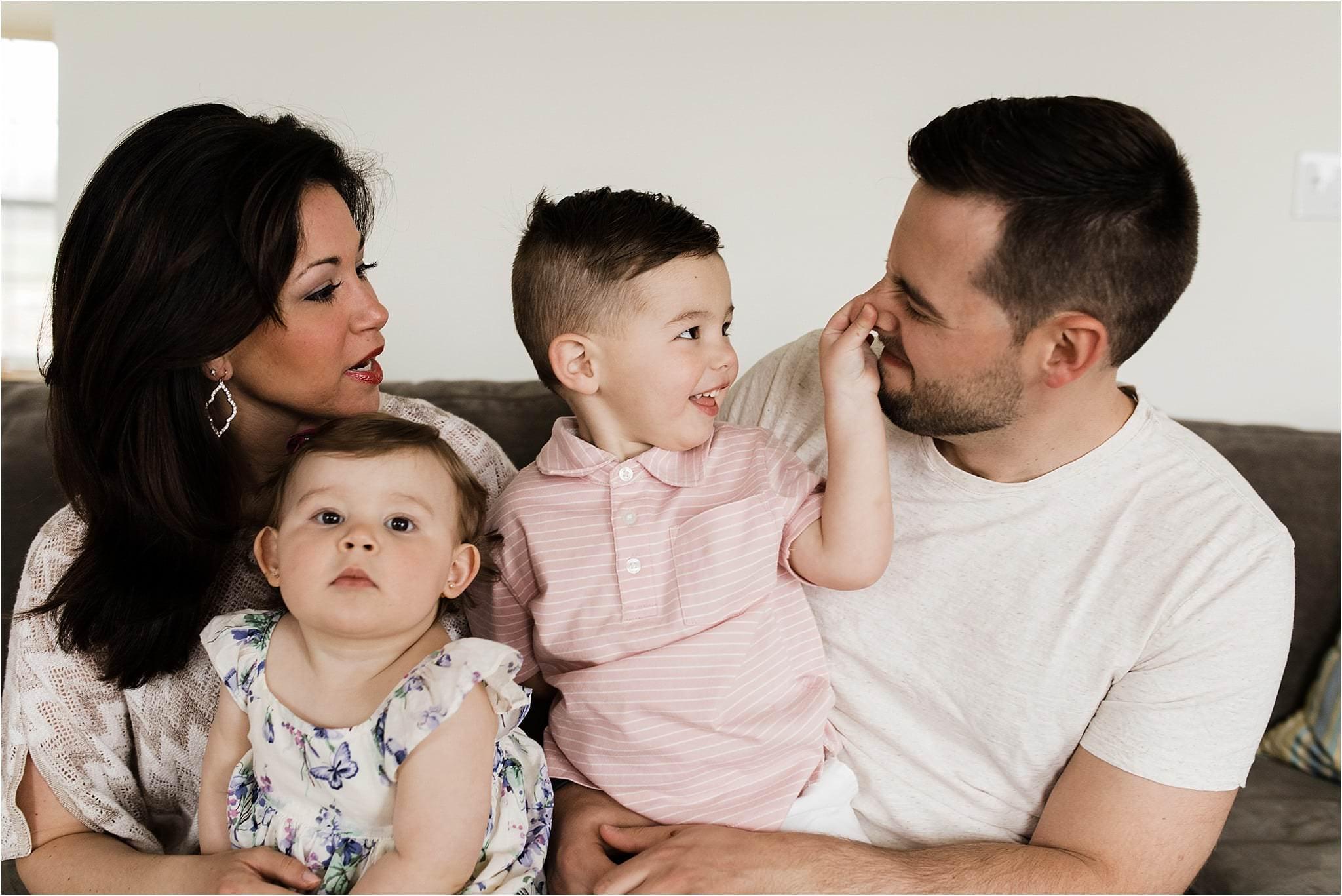 natural family moments