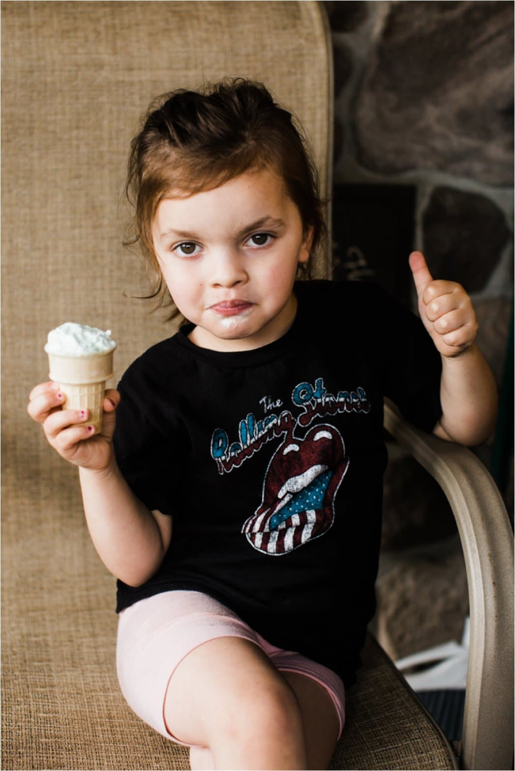 childhood ice cream photos