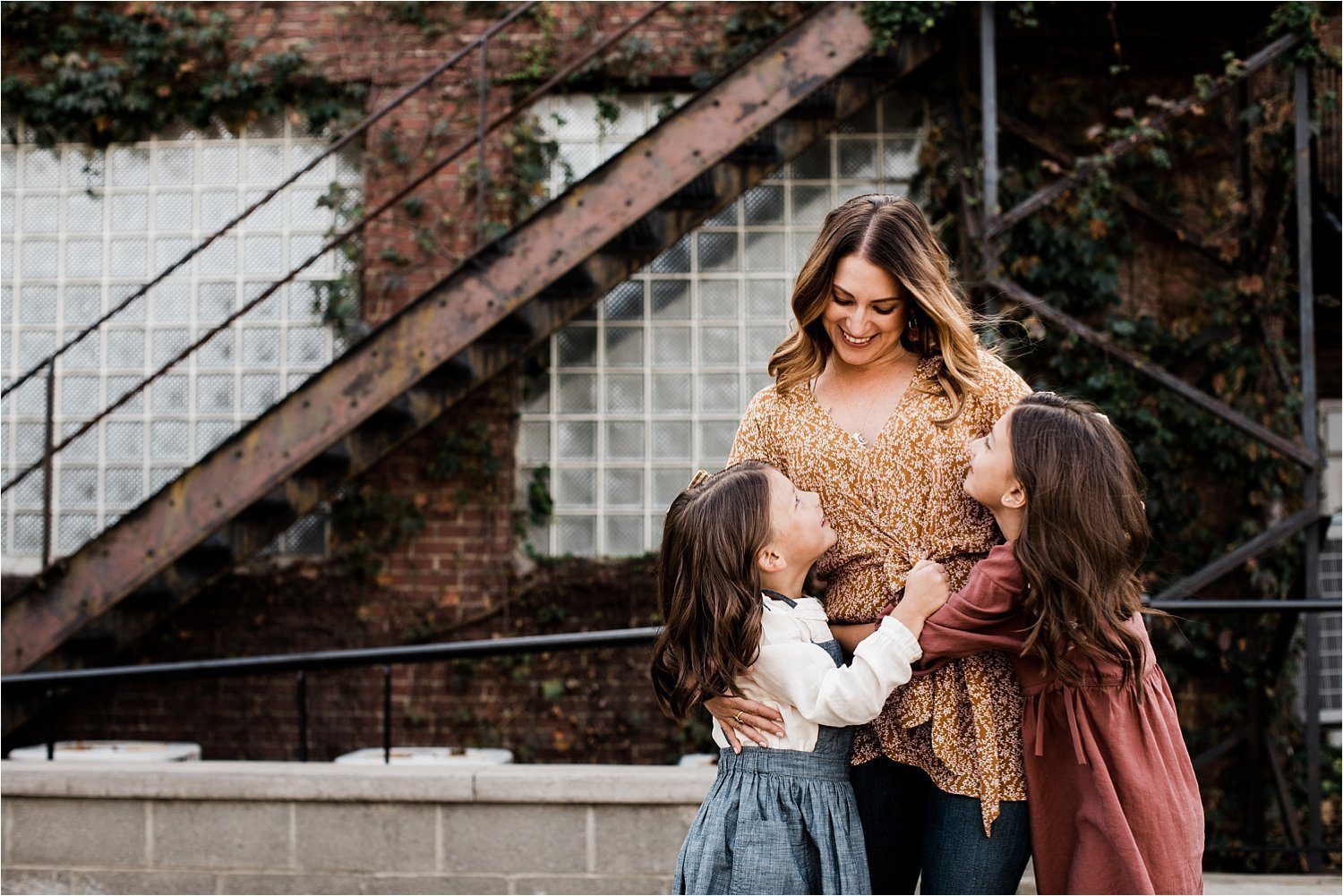 mother and daughter images in pittsburgh sewickley village