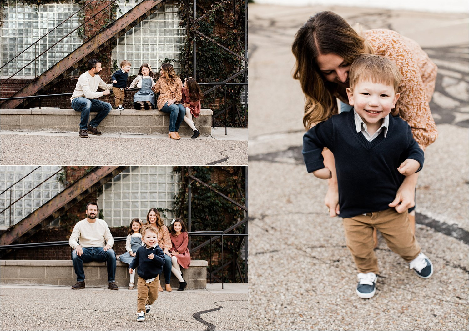 fun family photos in pittsburgh pa