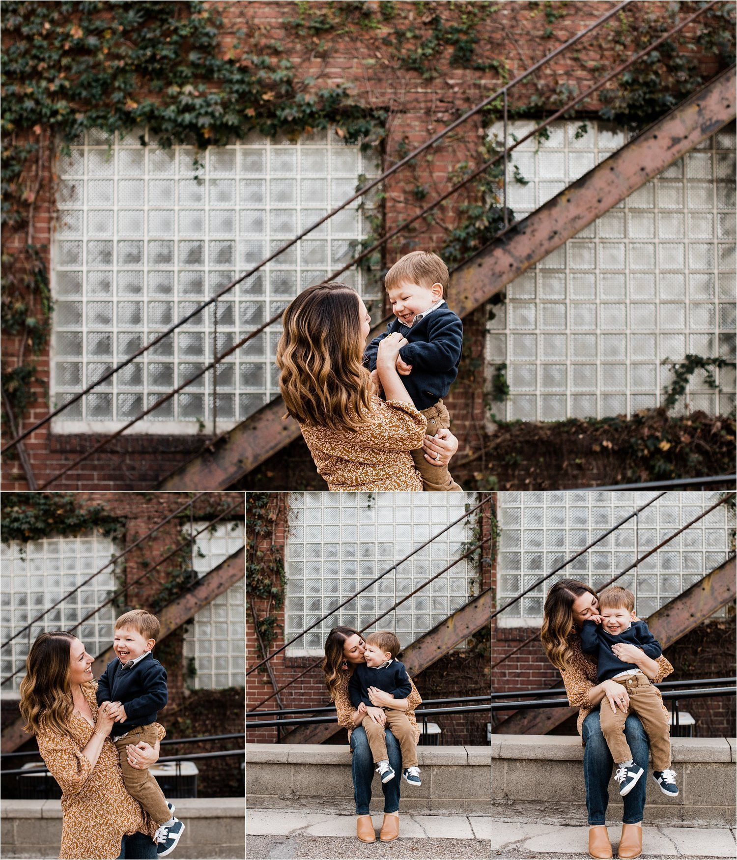 mother and son photographs in pittsburgh pa
