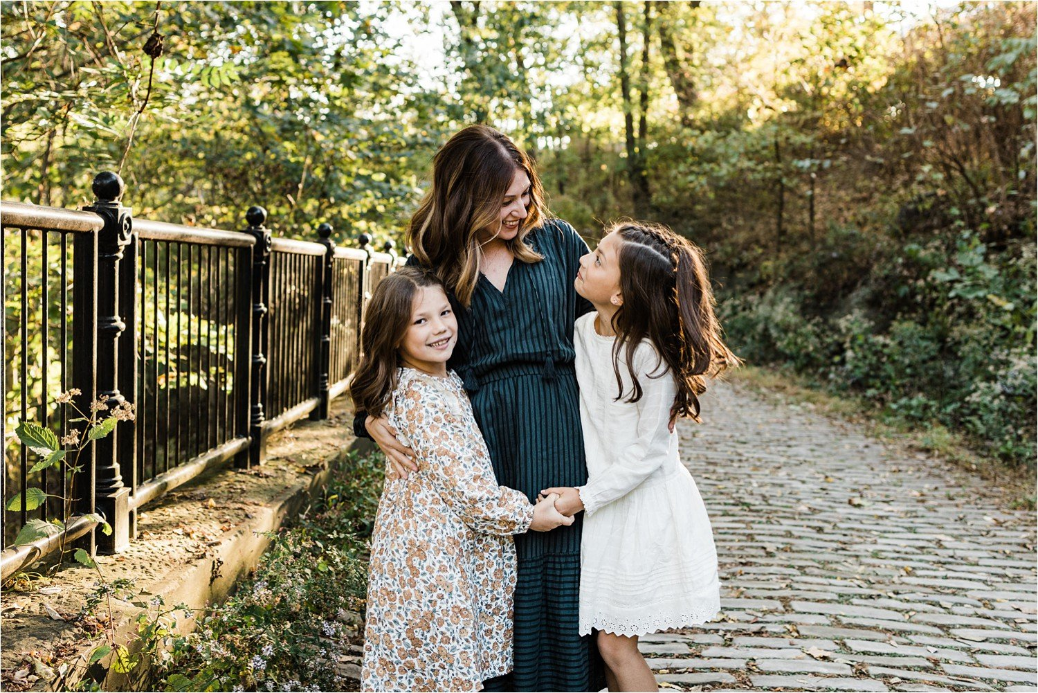 loving photo of mother and daughters